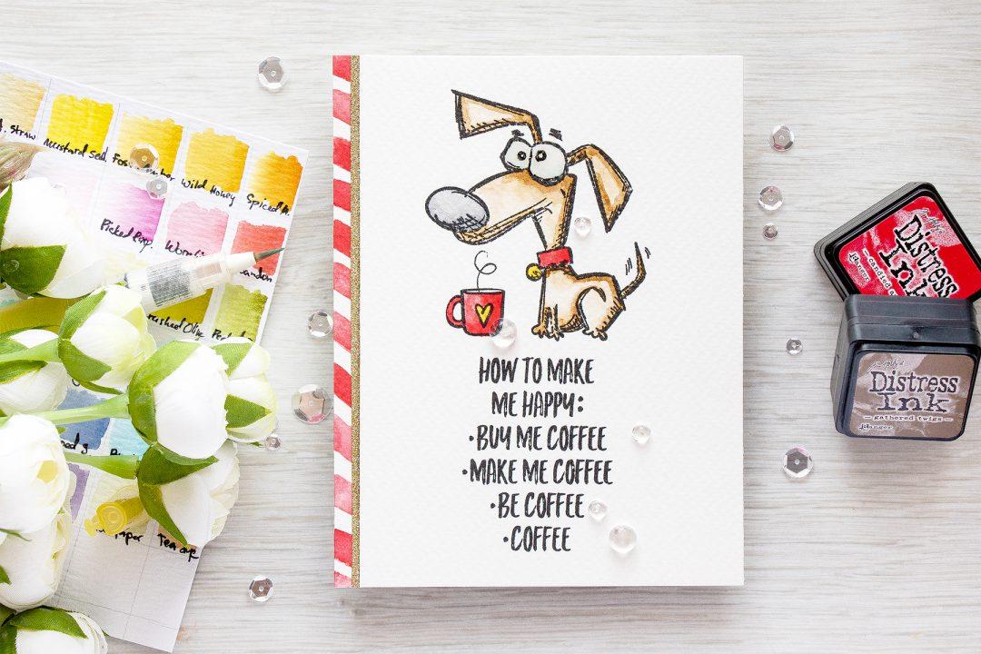 Simon Says Stamp | Masterpiece Box - Crazy Dogs & Coffee
