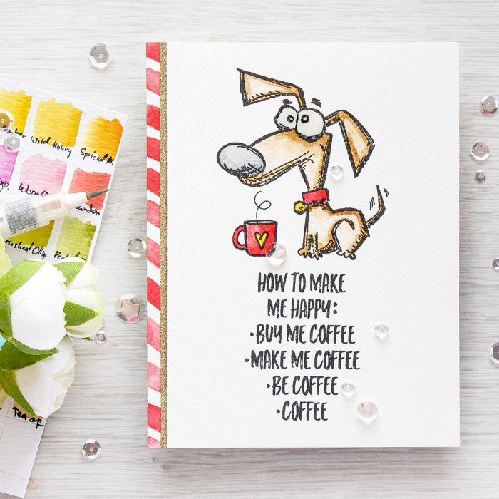 Simon Says Stamp | Masterpiece Box - Crazy Dogs & Coffee