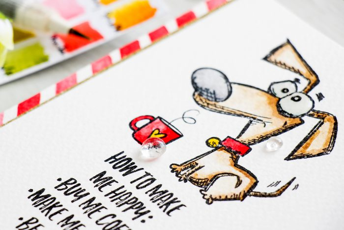 Simon Says Stamp   Masterpiece Box - Crazy Dogs & Coffee