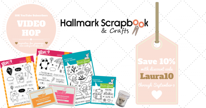 10K Video Hop Hallmark Scrapbook Coupon