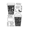 Hero Arts Coffee Cup Tags CL986