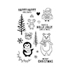Hero Arts Holiday Animals Stamps