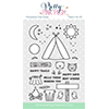 Pretty Pink Posh Camping Friends Stamp Set