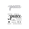 Hero Arts Peace Stamp & Cut DC187