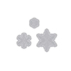 Hero Arts Paper Layering Snowflakes with Frames DI196