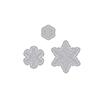 Hero Arts Paper Layering Snowflakes with Frames DI196