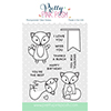 Pretty Pink Posh Fox Friends Stamp Set