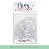 Pretty Pink Posh Iridescent Mini Circle Confetti