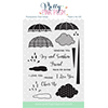 Pretty Pink Posh Rainy Days Additions Stamp Set