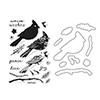 Hero Arts Cardinal Stamp+Die Combo SB118