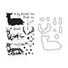 Hero Arts Deer Stamp+Die Combo SB119