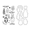 Hero Arts Holiday Animals Stamp+Die Combo