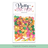 Pretty Pink Posh Tropical Flowers Sequins Mix