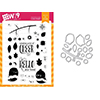 Wplus9 All Year Cheer Clear Stamp and Die Combo