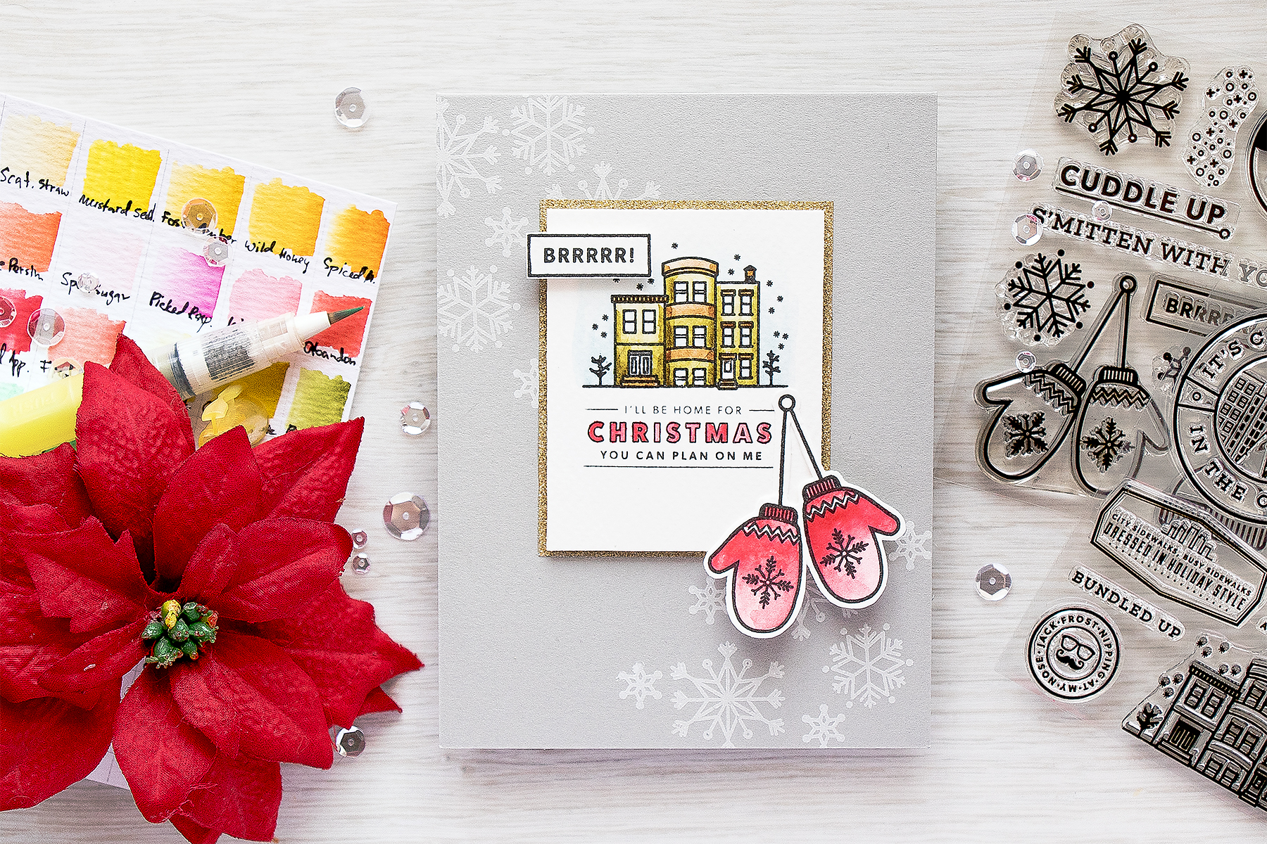 Hero Arts | I\'ll Be Home For Christmas | | Yana Smakula