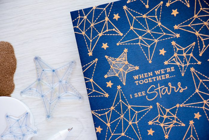 Simon Says Stamp | Seeing Stars - When We Are Together I See Stars
