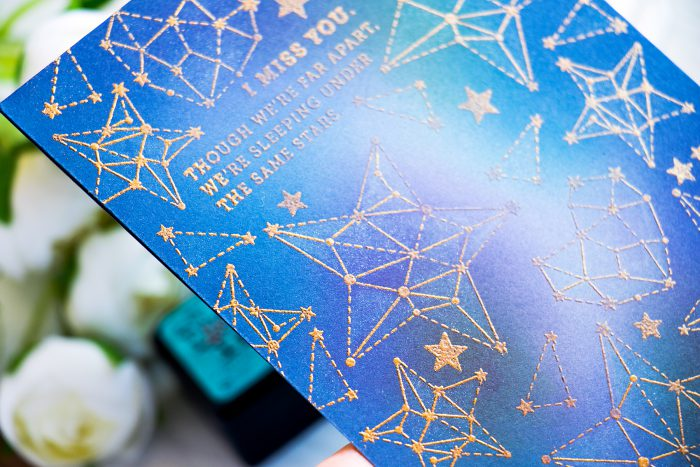 Simon Says Stamp | Easy Galaxy Background. Video