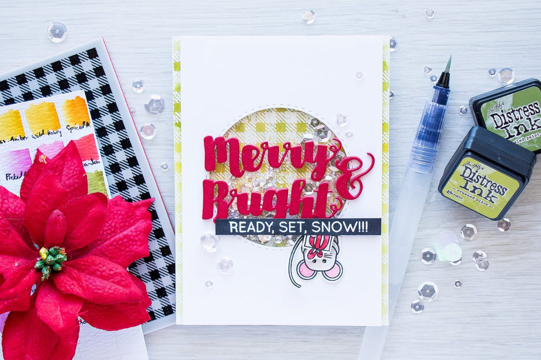 Simon Says Stamp | Merry & Bright Shaker Card