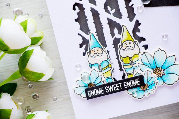 Its Stamptember! Gnome Sweet Gnome