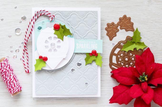 Spellbinders | Sparkling Shaker Christmas Card. Video