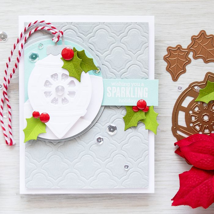 Spellbinders | Sparkling Shaker Christmas Card. Video