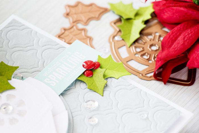 Spellbinders   Sparkling Shaker Christmas Card. Video