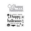 Hero Arts Halloween Trimmings Stamp & Cut DC197