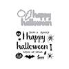 Hero Arts Halloween Trimmings Stamp & Cut DC197