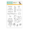 Reverse Confetti Stamptember Stamp Set Forest Friends