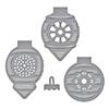 Spellbinders Holiday Vintage Ornaments Etched Dies S4-602