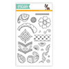 Simon Says Clear Stamps Henna Patterns