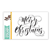 Simon Says Clear Stamps Merry Christmas