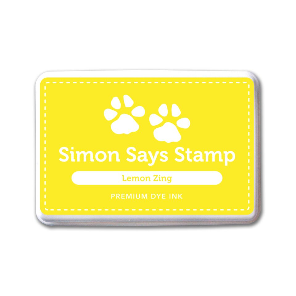 Simon Says Stamp Lemon Zing Dye Ink Pad