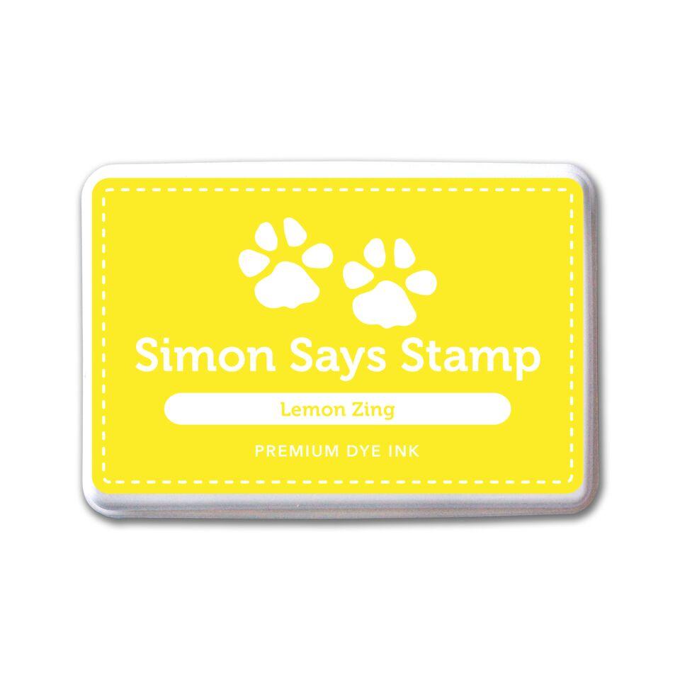 Simon Says Stamp Lemon Zing Dye Ink Pad