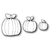 Simon Says Stamp Stitched Pumpkins Wafer Dies