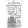 Altenew Sketchy Landmarks Stamp Set