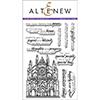 Altenew Sketchy Landmarks Stamp Set