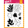 Wplus9 Autumn Leaves Clear Stamps
