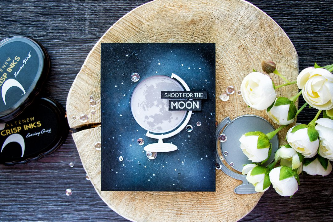 Altenew | Shoot For The Moon Window Card