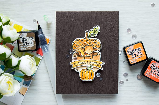 Its STAMPtember! Neat & Tangled Collaboration – Thanks a Bunch