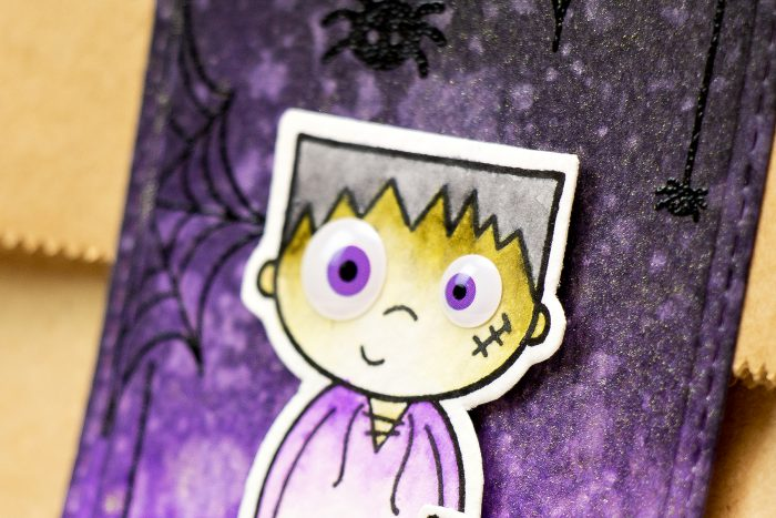 Simon Says Stamp | Limited Edition Halloween Card Kit - Treat Bag Toppers. Video