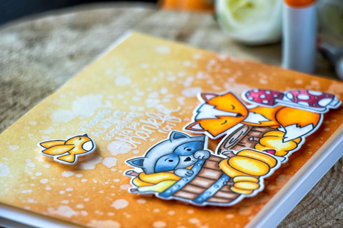 Its STAMPtember! Newtons Nook Collaboration – Something To Be Thankful For