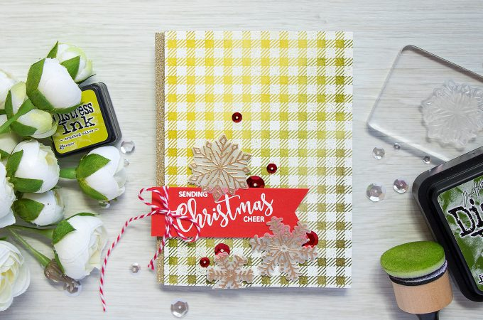 Its STAMPtember! Avery Elle Collaboration – Sending Christmas Cheer