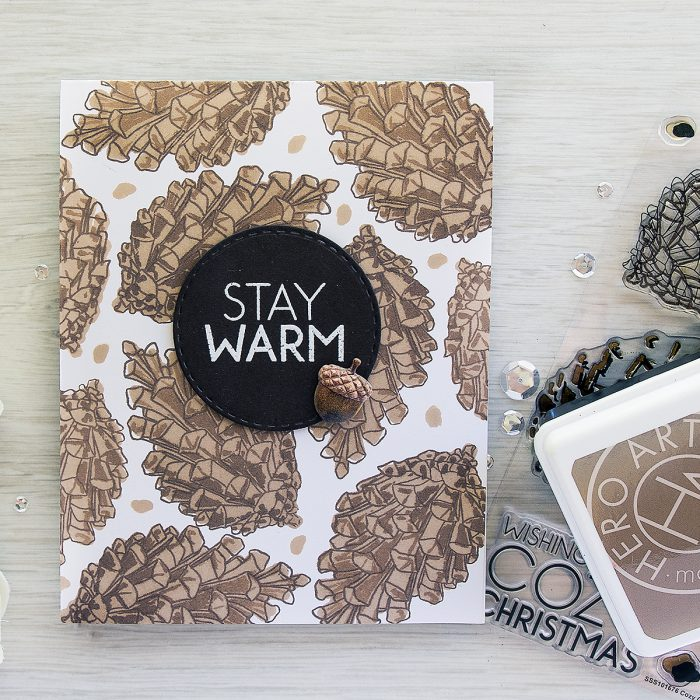 Its STAMPtember! Concord & 9th Collaboration – Stay Warm