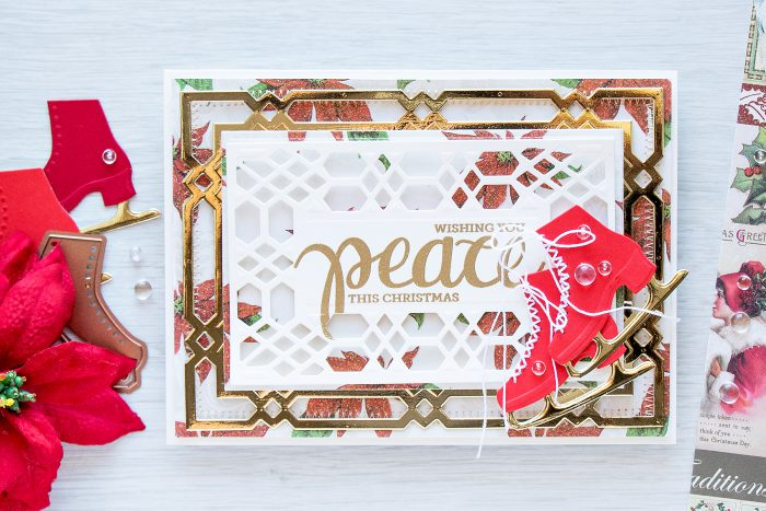 Spellbinders | Ice Skates Holiday Card. Video
