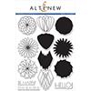 Altenew Geometric Flowers Stamp Set