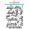 Altenew Super Script Scrapbook