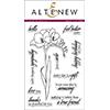 Altenew Fresh Freesia Stamp Set