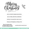 Mama Elephant Merry Christmas Wishes Stamp Set