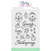 Pretty Pink Posh Giving Thanks Clear Stamp Set